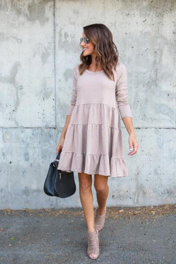 SOLD OUT / Chandler Cotton Ruffle Dress