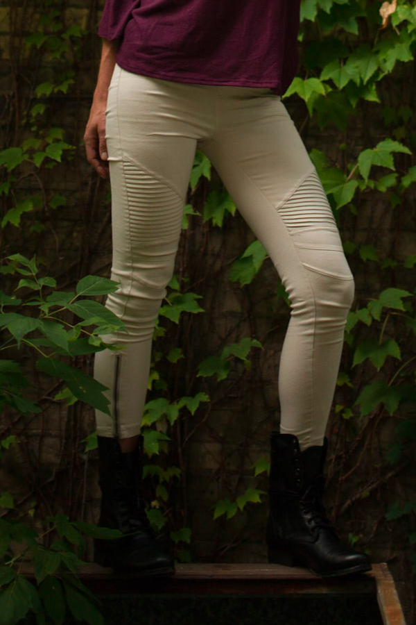 SOLD OUT / Piper Jeggings in Stone