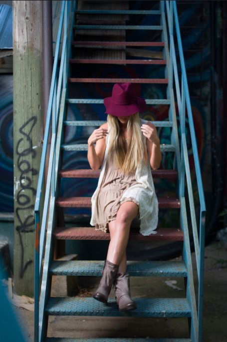 SOLD OUT / Porter Felt Hat in Burgundy