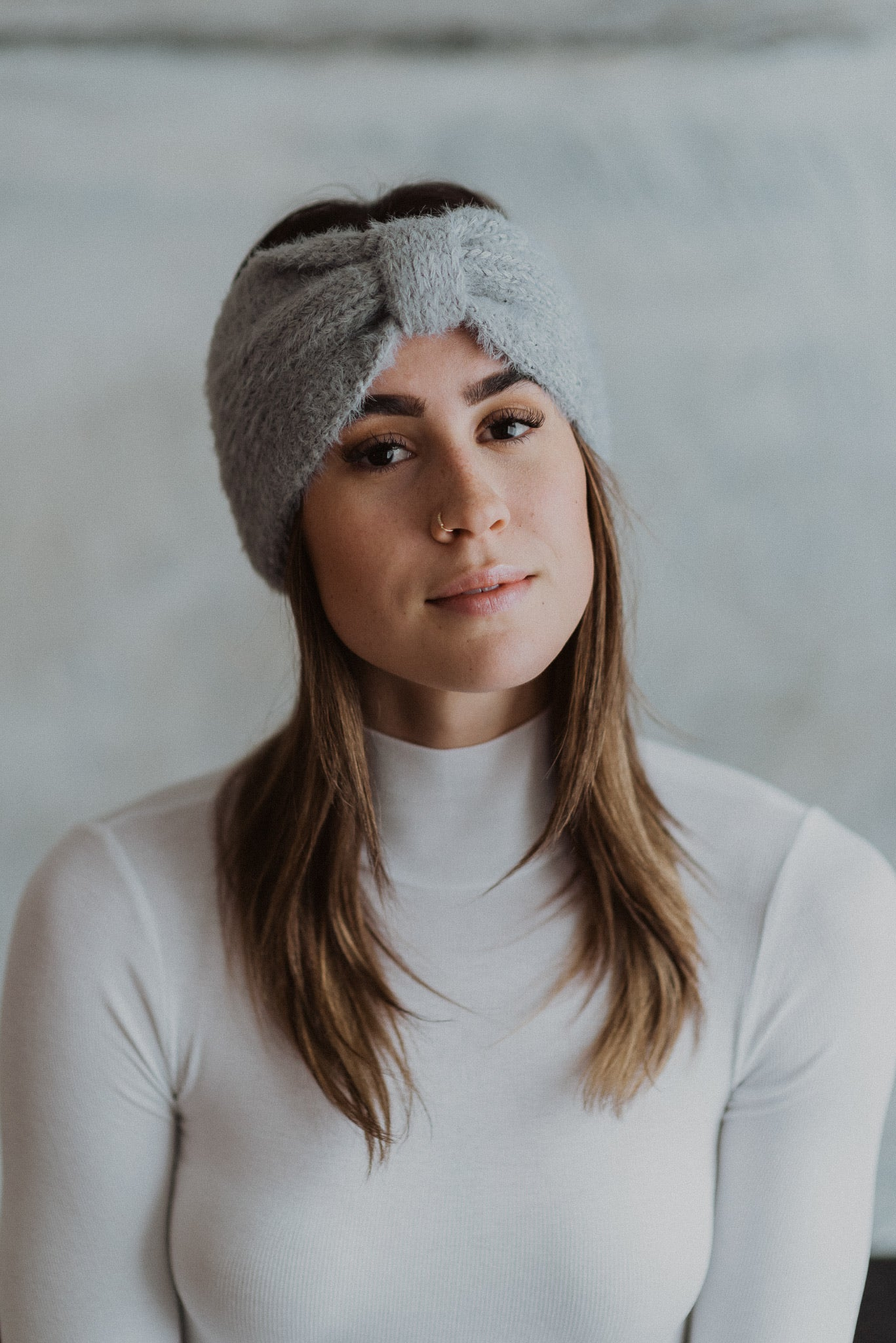Cozy Crush Ultra Soft Headband in Gray