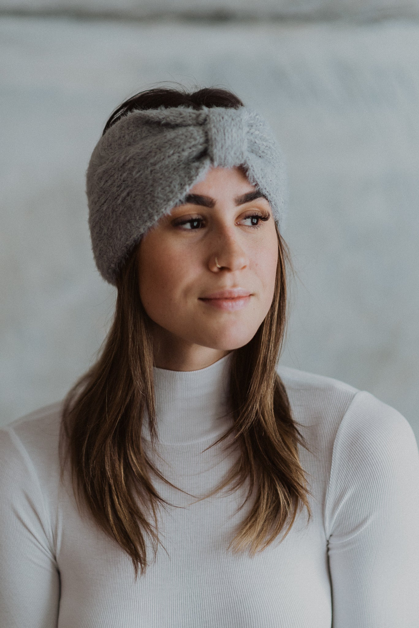 •sold out• Cozy Crush Ultra Soft Headband in Gray