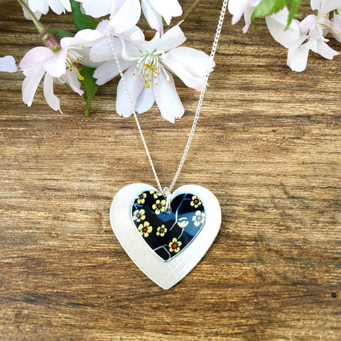 Willow Double Heart Pendant