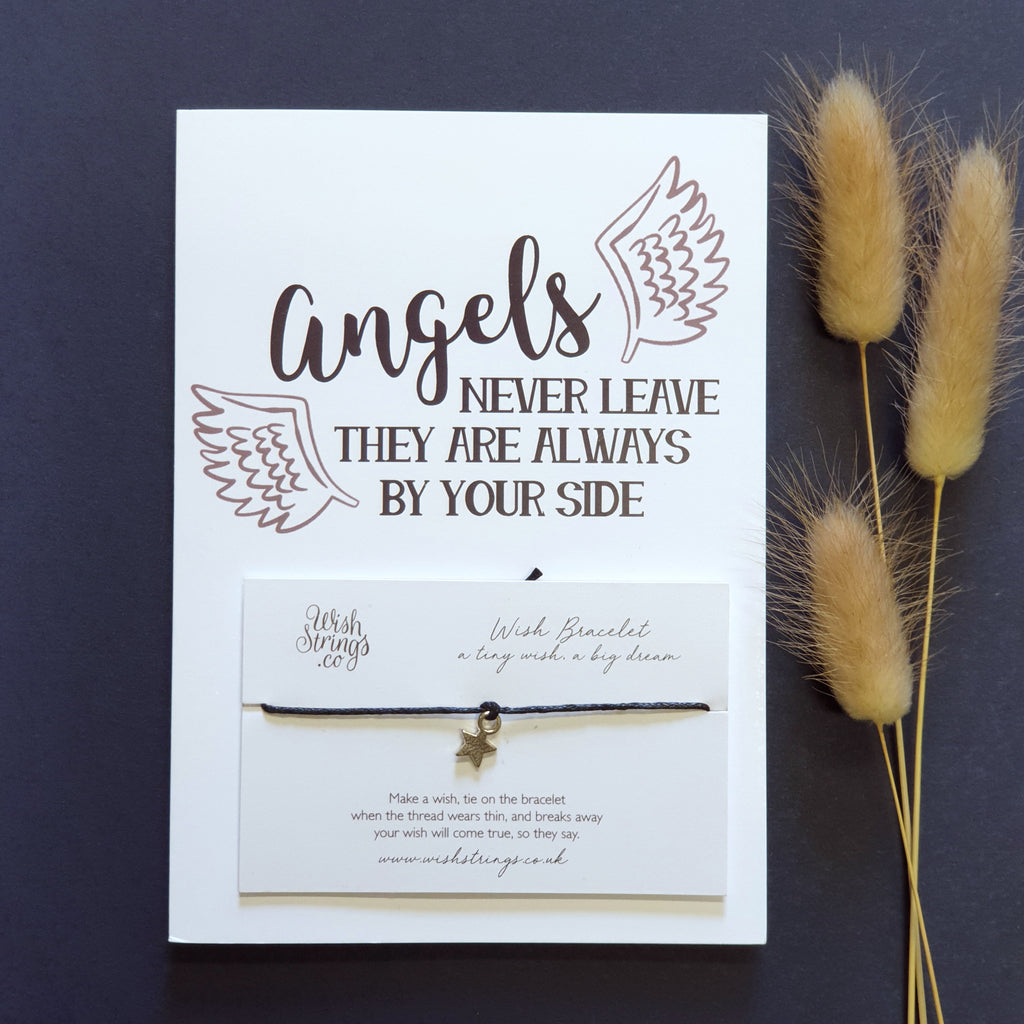 Wishstrings Card-  Angels