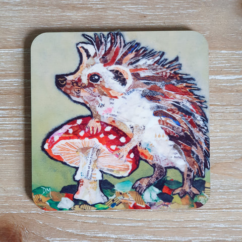 Spots 'n' Spikes Hedgehog Coaster