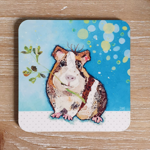 Eat your greens- Guinea pig Coaster