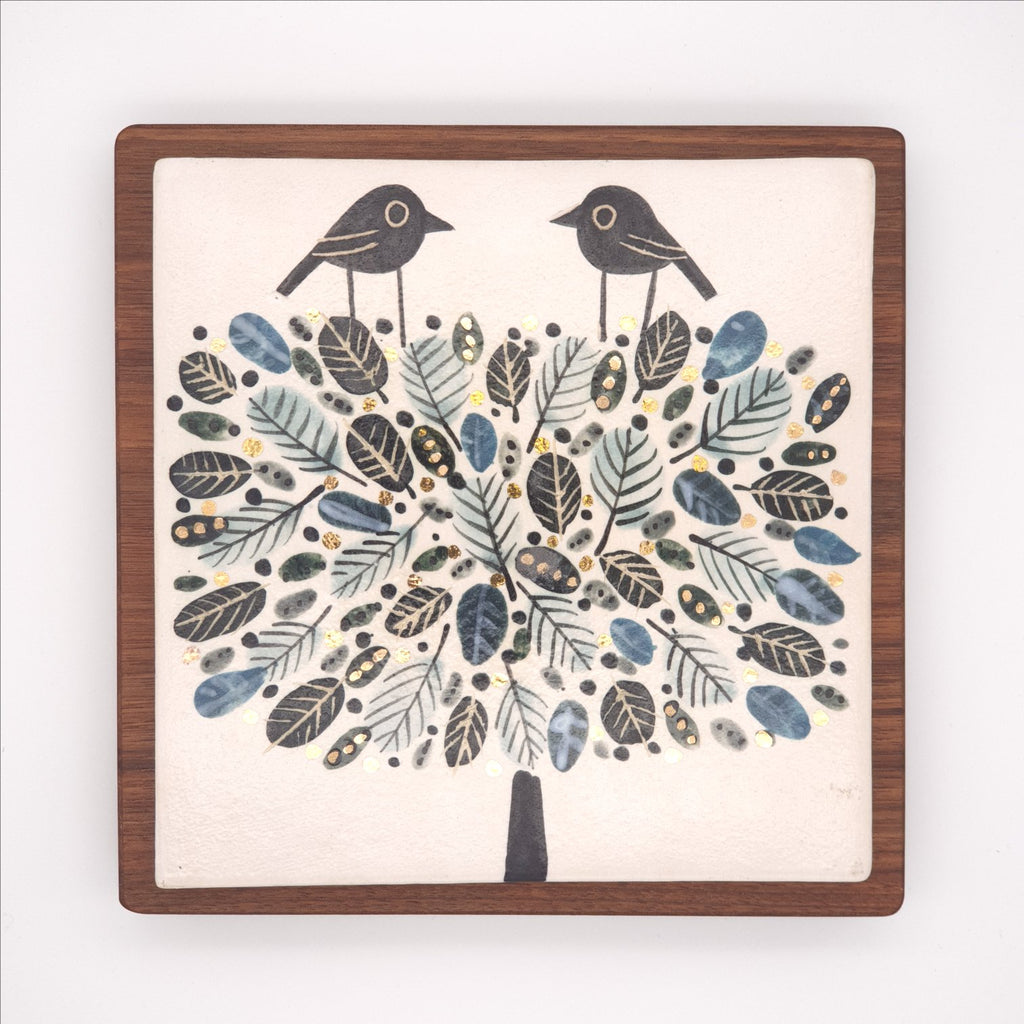 Ceramic Tile - Two birds in a Tree