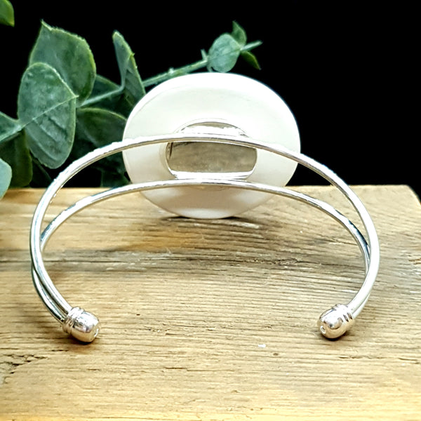 Deep sea blue Bangle