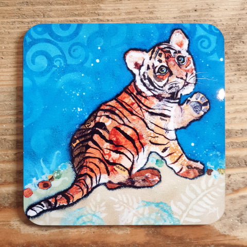 Topaz the Tiger Coaster