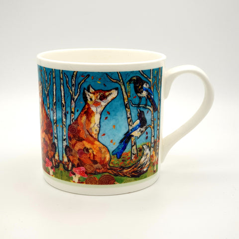 The Gift - Fox and Magpies Mug