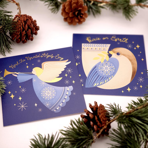 Herald Angel or dove multi pack- card