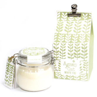 White Fig Soy Wax Kilner Jar Candle