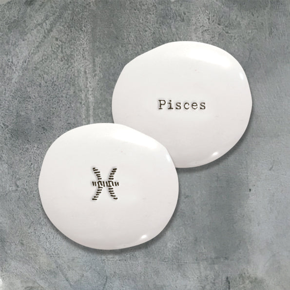 Porcelain Pebble - Zodiac Signs