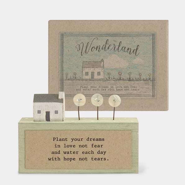 Wonderland Wood Scene - Plant Dreams