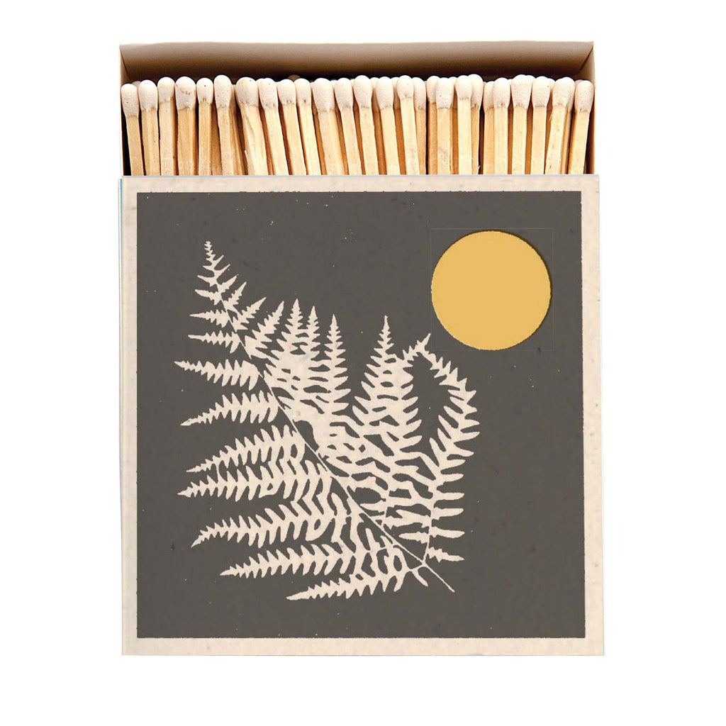 Fern - Square Box Luxury Matches