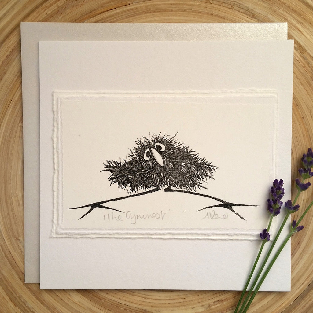 The Gymnast - Greetings Card