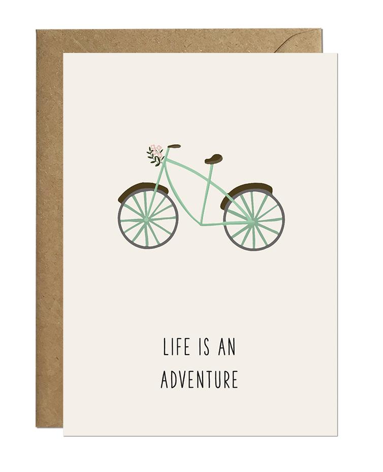Life is an Adventure - Card