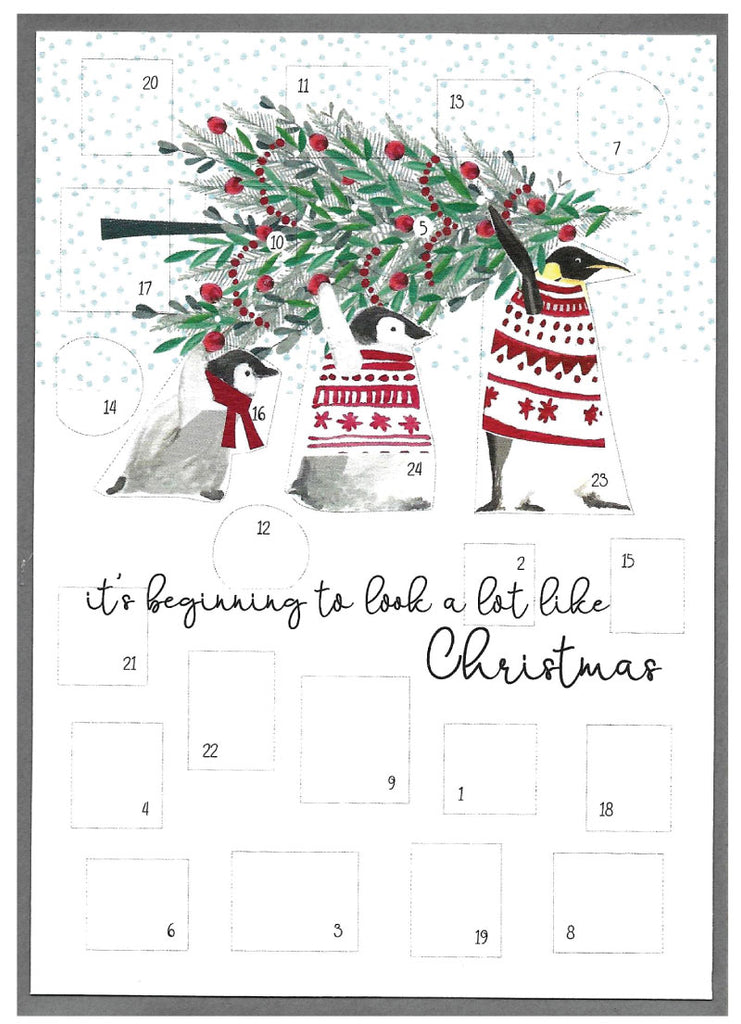 It's beginning to look a lot like Christmas- Christmas Advent Card