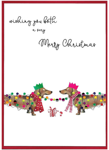Wishing you both a Merry Christmas - Christmas Card