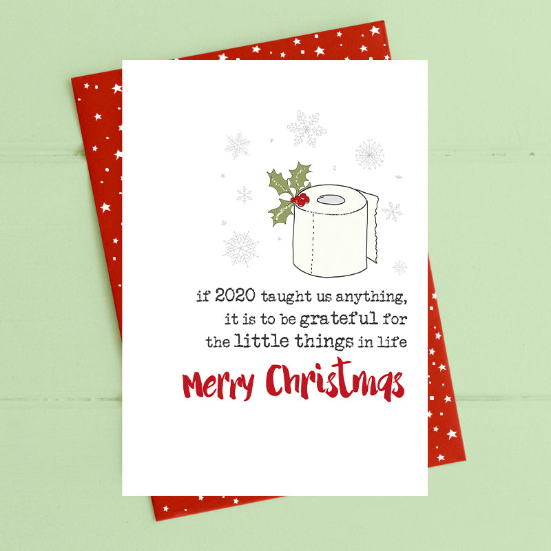 The little things in life - Covid Christmas Card