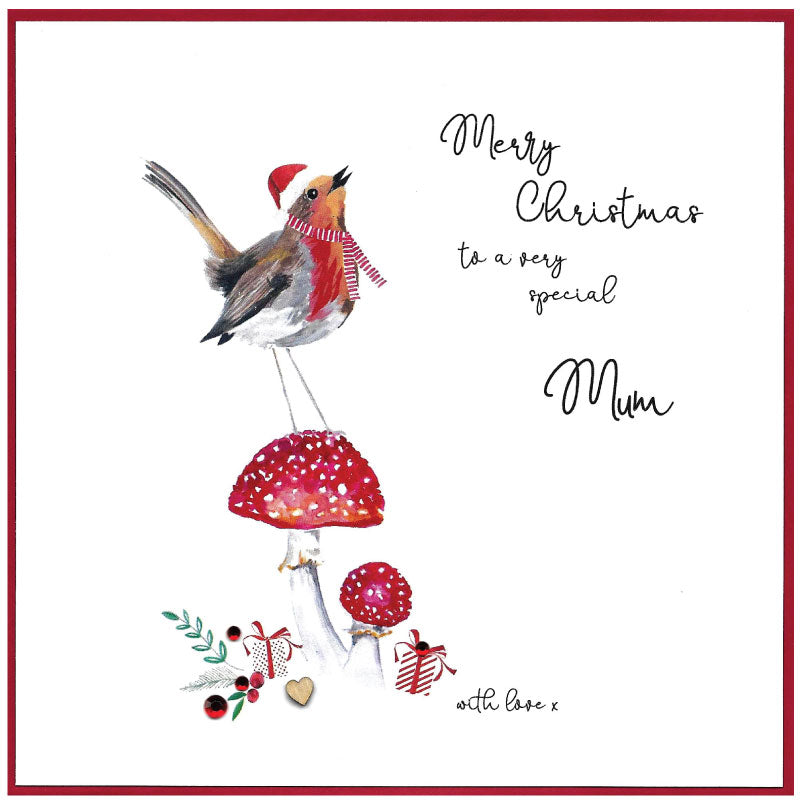 Very Special Mum - Christmas Card