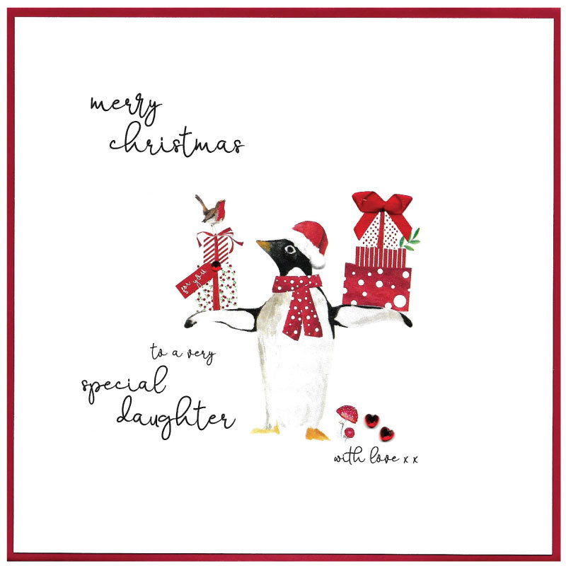 Special Daughter - Christmas Card