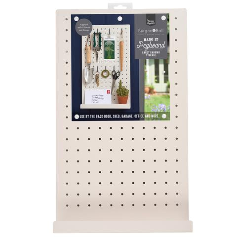 Hang It Pegboard - Stone/ Off White