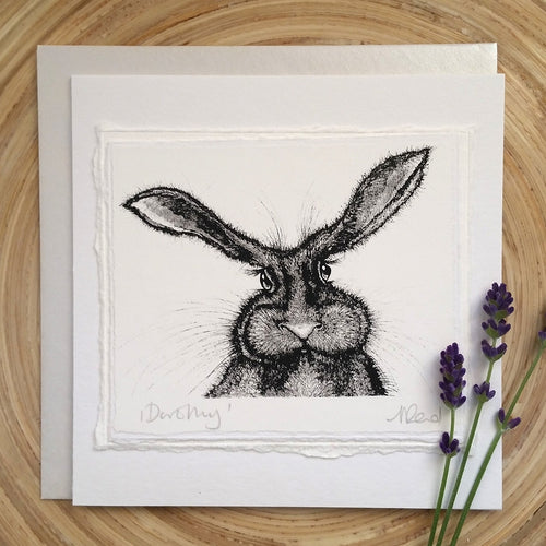 Dorothy, Hare - Greetings Card