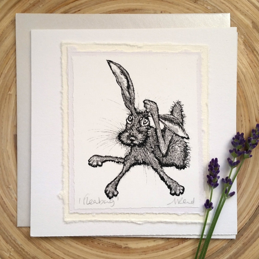 Fleabag, Hare - Greetings Card