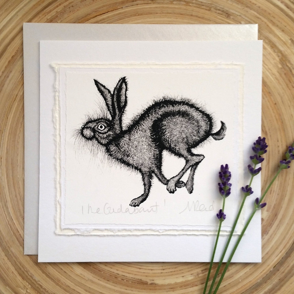 The Gadabout, Hare - Greetings Card