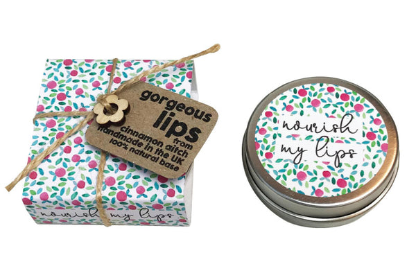Nourish my Lips-  Wild Raspberry Lip Balm