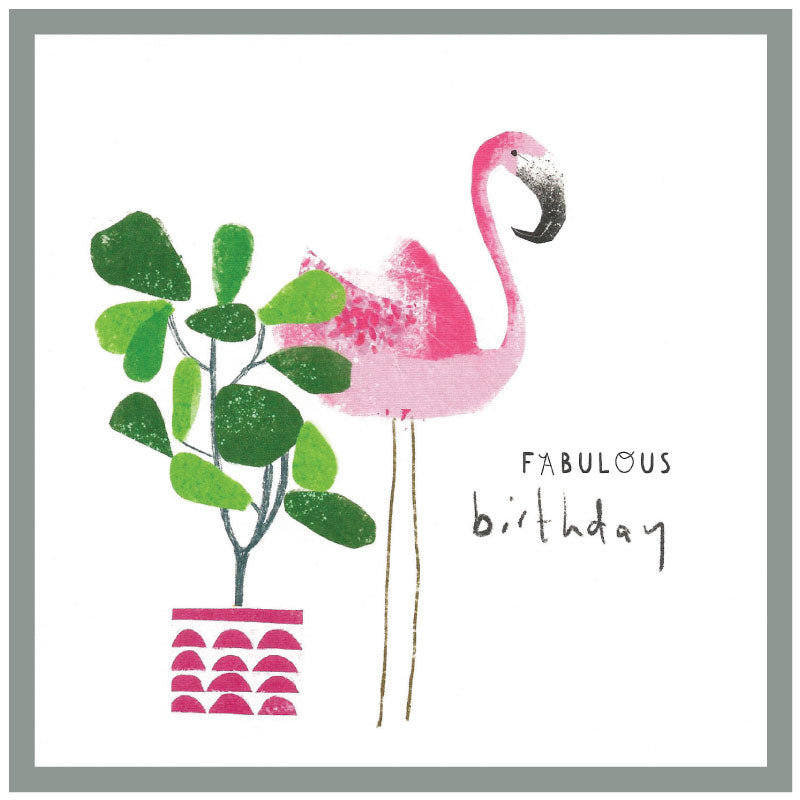 Fabulous Birthday- Greetings card