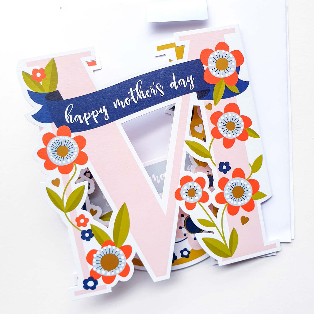 Happy Mothers Day - Fold Out Card