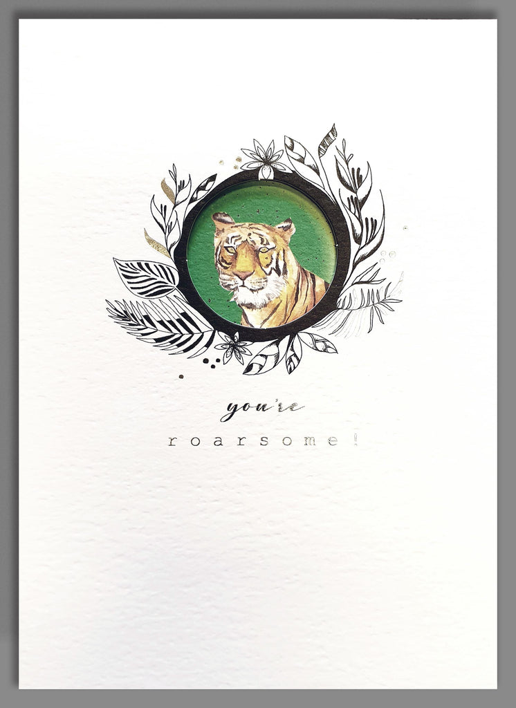 You're Roarsome! Tiger Card
