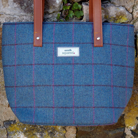 Heritage Tote Bag Blue
