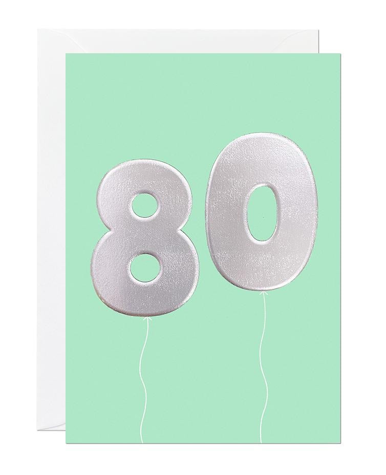 80 balloon - Ricicle Cards