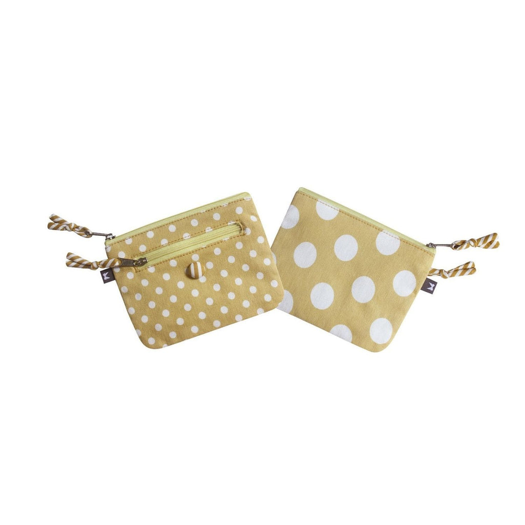 Emily Purse Spotty and Yellow