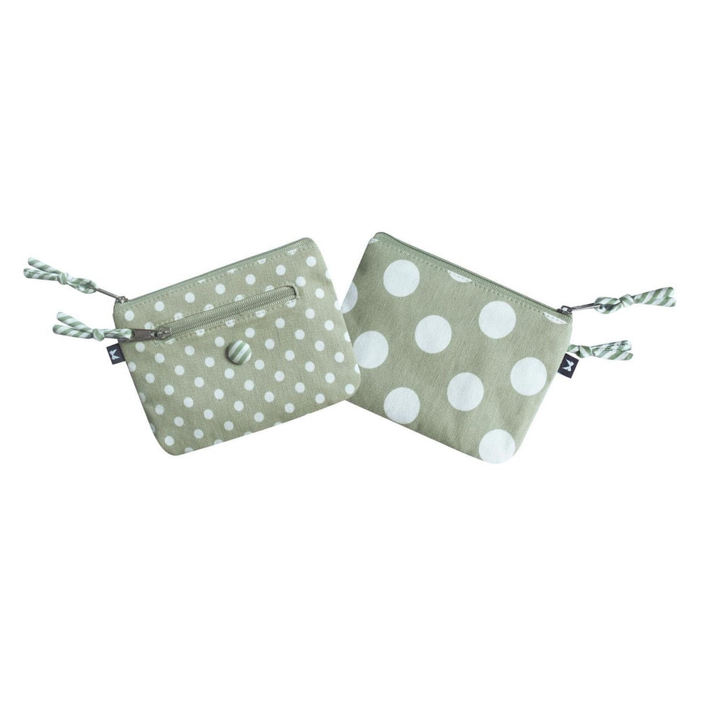Emily Purse Spotty and Mint
