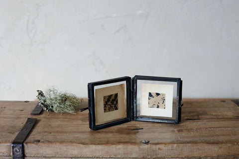 Danta tiny folded frame - antique black