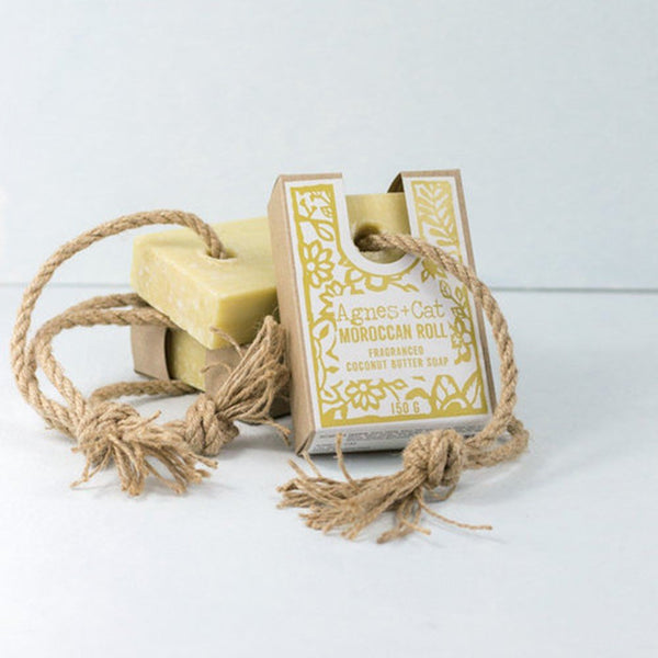 Soap on a rope - Moroccan Roll