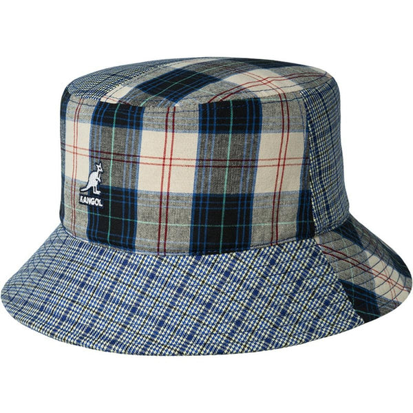 Kangol `Plaid Mashup' Bucket Hat