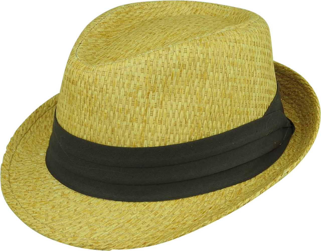 Avenel Straw Trilby with Puggaree