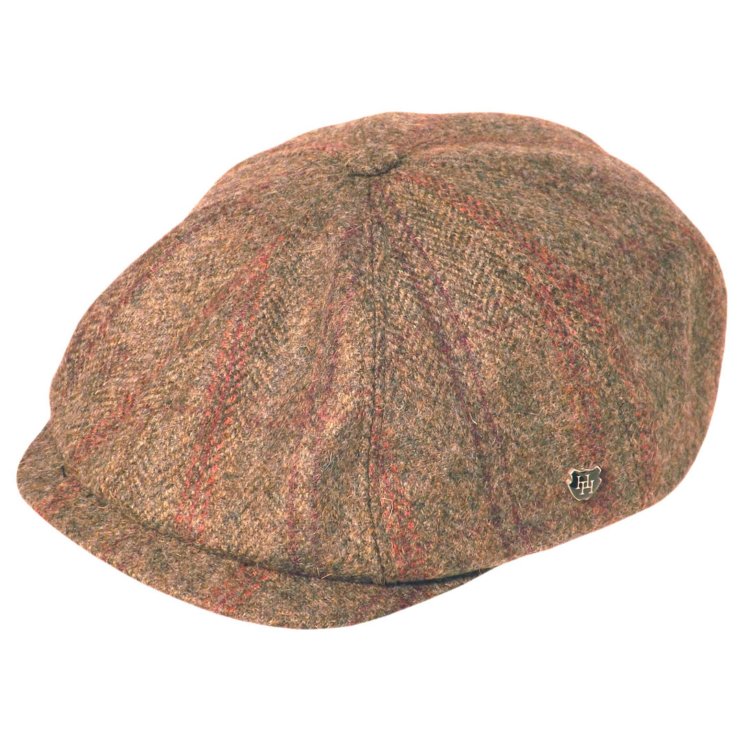 Hills Wool Tweed Caddy Cap