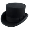 Avenel Wool Felt Coachman Top Hat