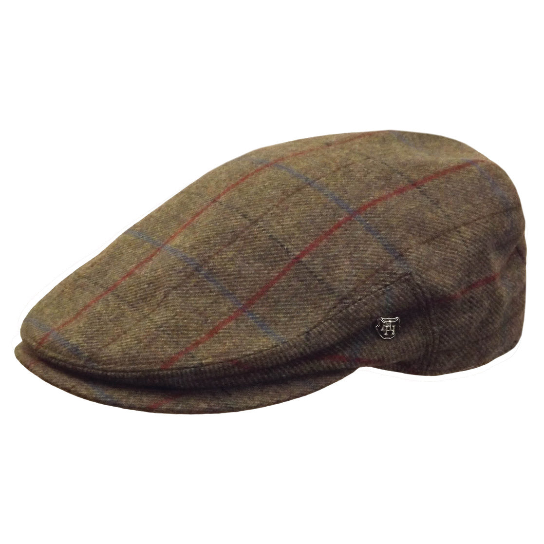 2c8a864b01e Hills Bingley Check Lambswool Tweed Cheesecutter Cap – City Hatters