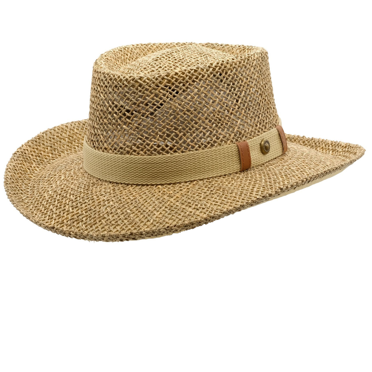 Avenel Open Weave Seagrass Downunder Hat