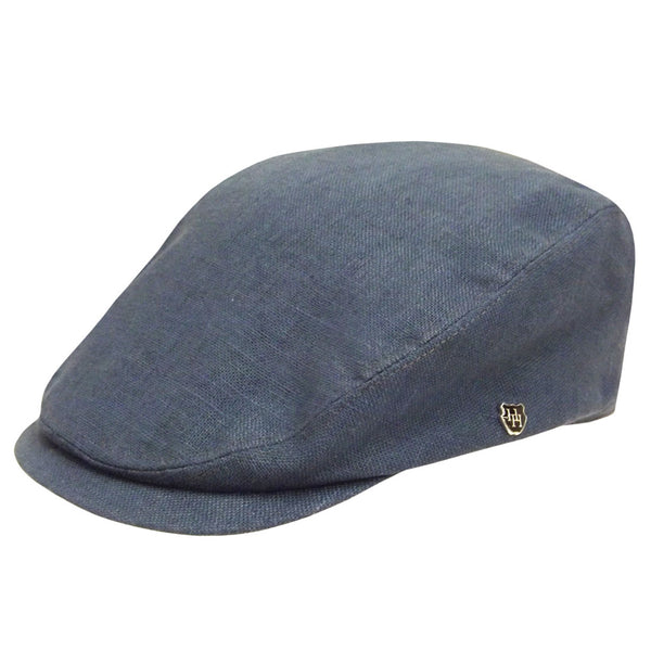 Hills Pure Linen Executive Newsboy Cap