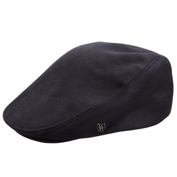 Hills Cashmere/Wool Sports Cheesecutter Cap