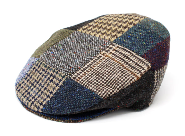 Hanna Patchwork Tweed Vintage Cap