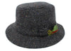 Hanna Patch Tweed Walking Hat