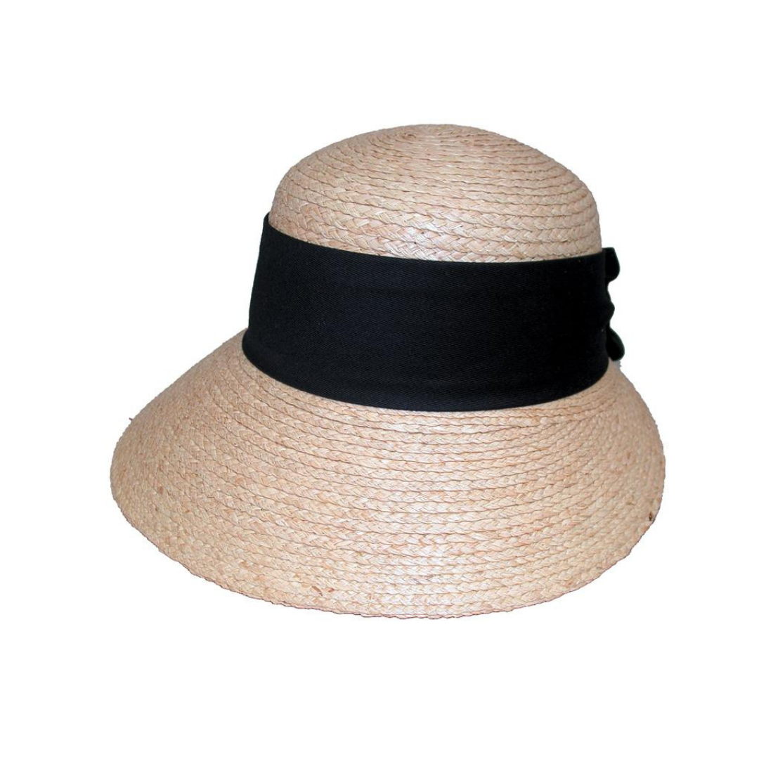 Avenel Ladies Raffia Bonnet